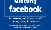 quitting facebook adult version running away attention funny pics pictures pic picture image photo images photos lol