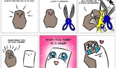 rock paper scissors comic need hug funny pics pictures pic picture image photo images photos lol