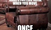 scumbag leather chair makes farting noise when move once funny pics pictures pic picture image photo images photos lol