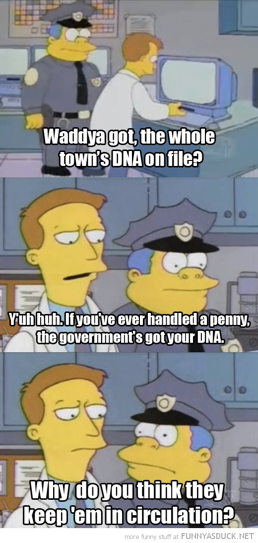 simpsons tv scene pennys dna circulation funny pics pictures pic picture image photo images photos lol
