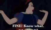 snow white disney oh gurl i'm out fil movie funny pics pictures pic picture image photo images photos lol