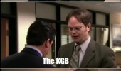 the office tv scene knock joke kgb dwight funny pics pictures pic picture image photo images photos lol