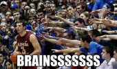 zombie crowd basketball player sport brains funny pics pictures pic picture image photo images photos lol