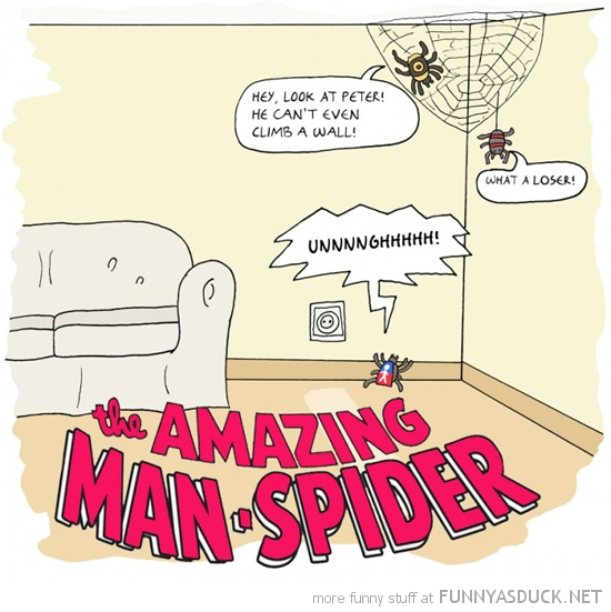 amazing man spider comic funny pics pictures pic picture image photo images photos lol