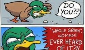 angry bird duck diabetes whole grain bread quack comic funny pics pictures pic picture image photo images photos lol