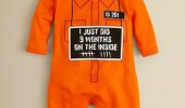 baby sleep suit jail prison been inside 9 months funny pics pictures pic picture image photo images photos lol