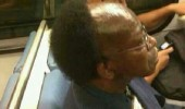 bald man afro halfro haircut funny pics pictures pic picture image photo images photos lol