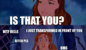 beauty beast disney is that you worked hard film movie funny pics pictures pic picture image photo images photos lol