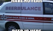 beerbulance ambulance have no fear car van funny pics pictures pic picture image photo images photos lol