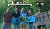 best friend sign die homo miss you funny pics pictures pic picture image photo images photos lol
