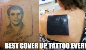 best tattoo cover up ever black square funny pics pictures pic picture image photo images photos lol