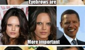 celebrities movie actors eyebrows matter funny pics pictures pic picture image photo images photos lol