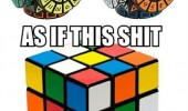circular rubiks cube as if wasn't hard enough funny pics pictures pic picture image photo images photos lol