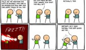 cyanide happiness comic app to shut you up funny pics pictures pic picture image photo images photos lol