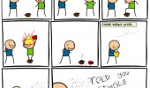 cyanide happiness comic fit inside box fire funny pics pictures pic picture image photo images photos lol