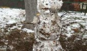 sad dirty snowman muck fuck my life funny pics pictures pic picture image photo images photos lol