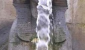 Egyptian statue water fall mouth sick funny pics pictures pic picture image photo images photos lol