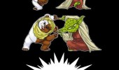 ewok yoda turn into gizmo star wars gremlins film funny pics pictures pic picture image photo images photos lol
