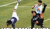 football soccer players falling fuck this shit lets breakdance funny pics pictures pic picture image photo images photos lol