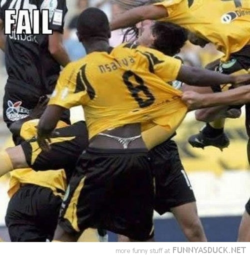 football soccer player wearing thong fail sport funny pics pictures pic picture image photo images photos lol