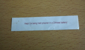 fortune cookie message help prisoner chinese factory funny pics pictures pic picture image photo images photos lol