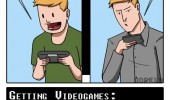 gaming then and now comic retro gamer dorkly funny pics pictures pic picture image photo images photos lol