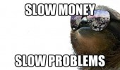gangster sloth animal shades sun glasses slow money problems funny pics pictures pic picture image photo images photos lol