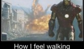 iron man avengers explosion how feel walking away strike bowling funny pics pictures pic picture image photo images photos lol