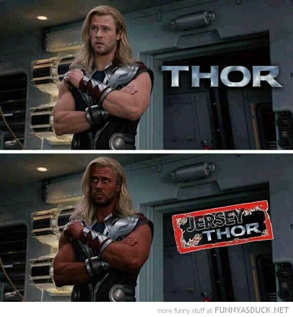 jersey thor tan avengers film movie funny pics pictures pic picture image photo images photos lol