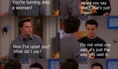 joey friends tv scene i'm a woman funny pics pictures pic picture image photo images photos lol