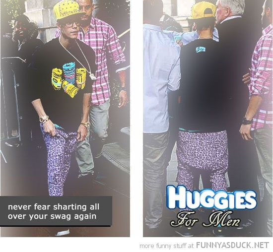 justin bieber baggy pants fear sharting swag huggies men funny pics pictures pic picture image photo images photos lol