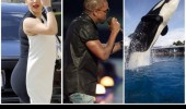 kim kardashian kayne west black white dress let you finish best shamu's ever funny pics pictures pic picture image photo images photos lol