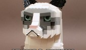 lego grumpy cat angry animal lolcat played once it was awful funny pics pictures pic picture image photo images photos lol