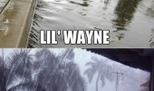 lil lotta wayne rain water funny pics pictures pic picture image photo images photos lol