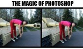girl tank magic of photoshop funny pics pictures pic picture image photo images photos lol
