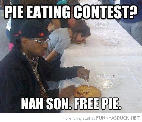 man eating pie contest free son funny pics pictures pic picture image photo images photos lol