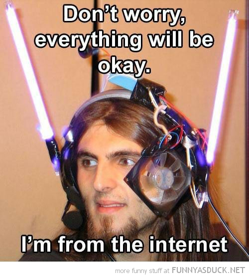 man light sabres head don't worry from internet  funny pics pictures pic picture image photo images photos lol