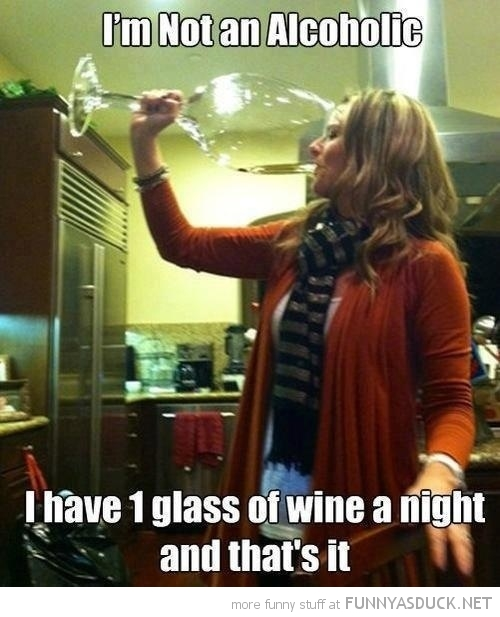 not alcoholic one glass wine day huge big woman funny pics pictures pic picture image photo images photos lol