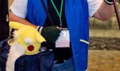 old man dressed ash pokemon get off my tall grass gaming funny pics pictures pic picture image photo images photos lol