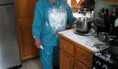 sad old woman lady flour cocaine my dealer going to kill me funny pics pictures pic picture image photo images photos lol