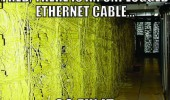 server room wires unplugged ethernet cable unplugged go fix it funny pics pictures pic picture image photo images photos lol