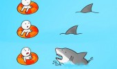 shark high five comic funny pics pictures pic picture image photo images photos lol