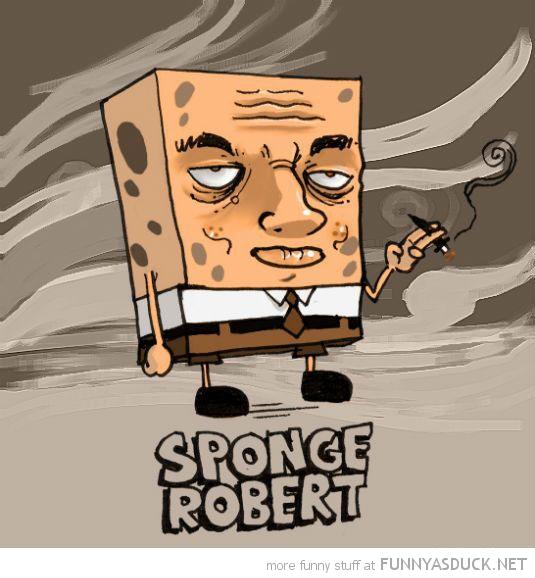 spongebob nickelodeon smoking sponge robert funny pics pictures pic picture image photo images photos lol
