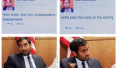 tom haverford parks rec tv scene car crash fire hydrant twitter court funny pics pictures pic picture image photo images photos lol