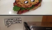 tomatoes sandwich speech bubbles toasted story the condimentalist funny pics pictures pic picture image photo images photos lol