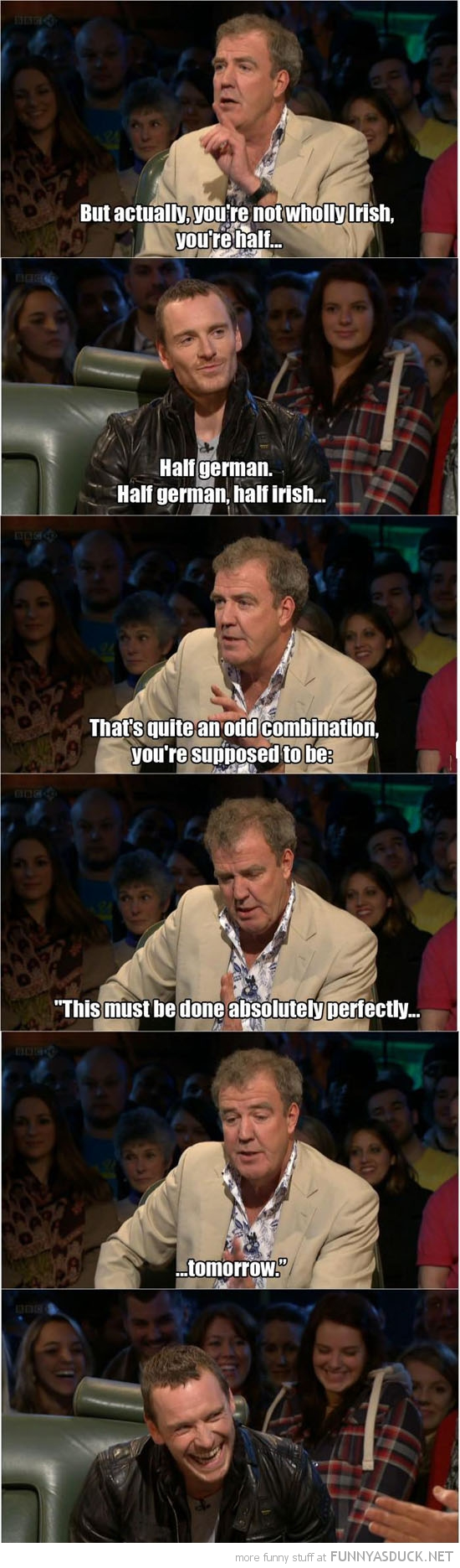 top gear jeremy clarkson half irish german tv funny pics pictures pic picture image photo images photos lol