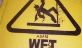 caution wet floor sign adam west batman funny pics pictures pic picture image photo images photos lol
