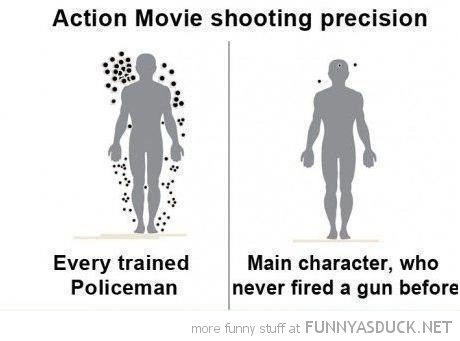 action movie shooting precision trained policeman main character funny pics pictures pic picture image photo images photos lol