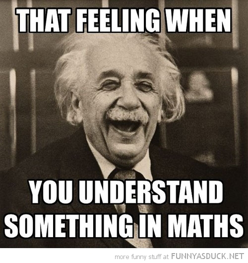 albert einstein laughing the feeling when understand something math class funny pics pictures pic picture image photo images photos lol