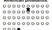 american presidents black hat smiley faces lincoln obama funny pics pictures pic picture image photo images photos lol